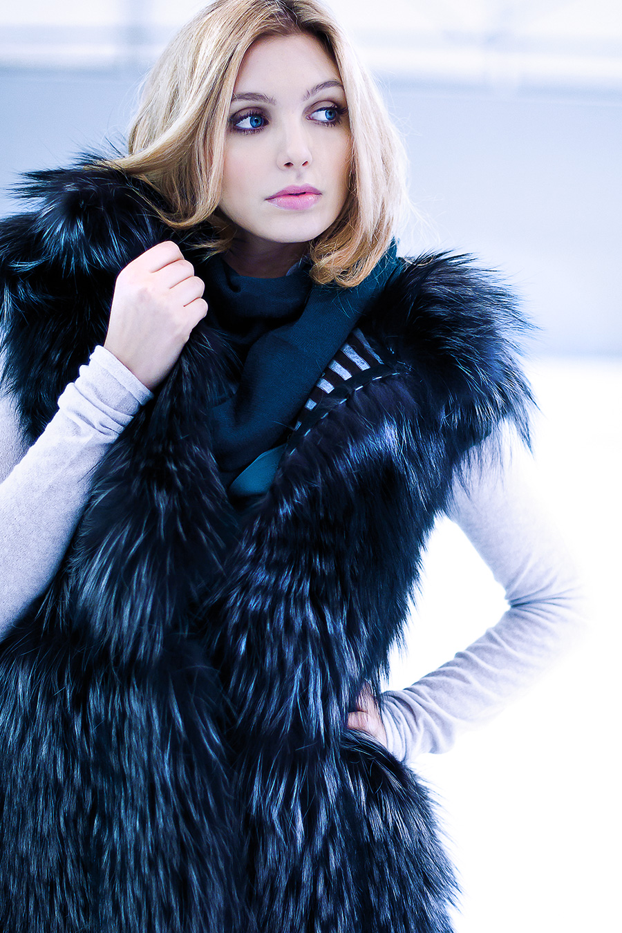 Fashion Editorial - Ice