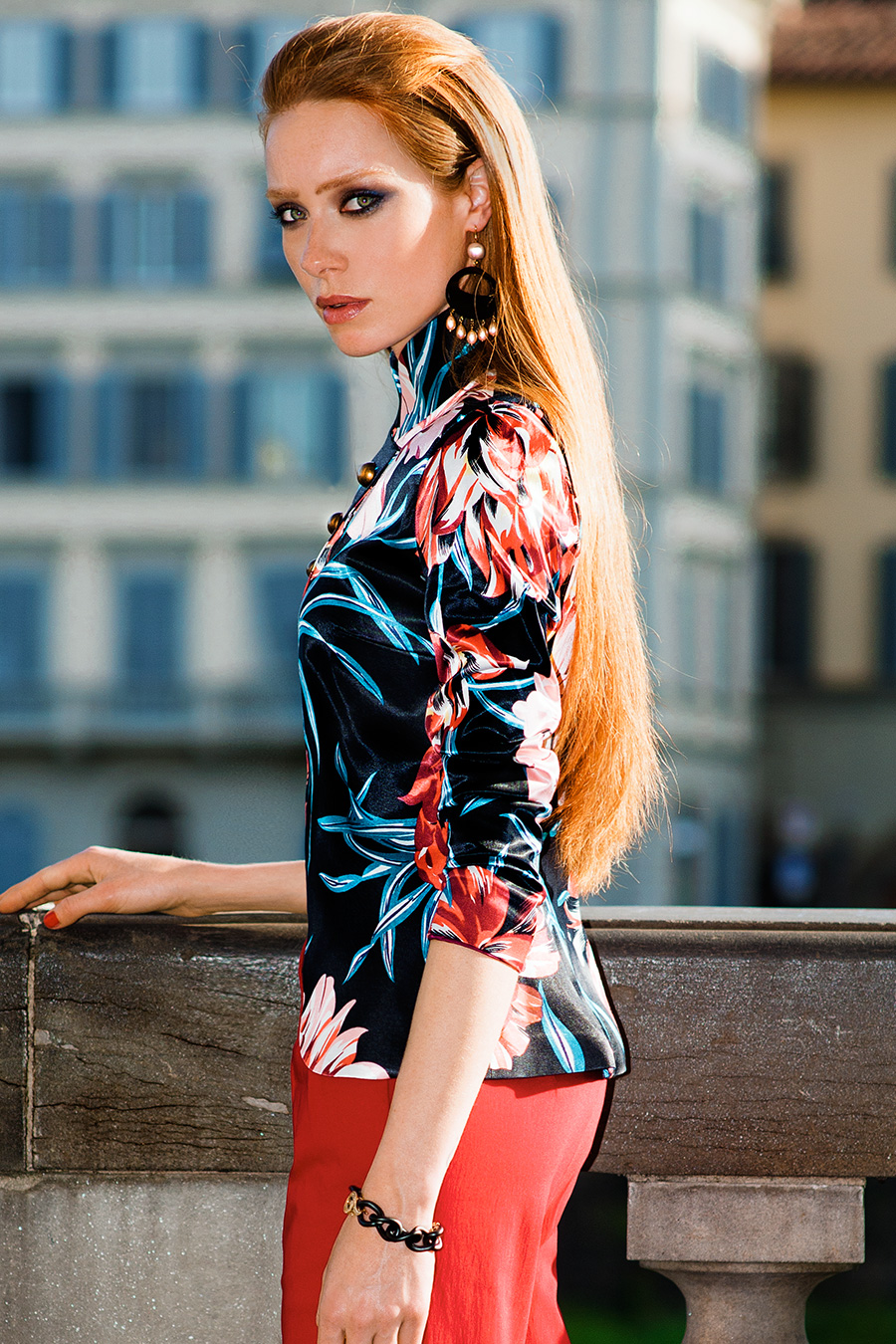 Fashion Editorial - Summer in Florence